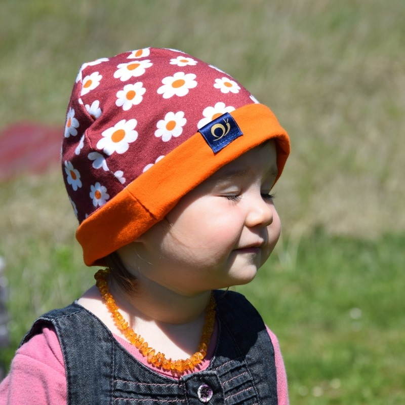 bonnet anti-ondes enfant, Fleur d'Orange